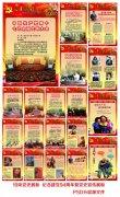 国庆党的历程展板共产党成立周年光辉历程