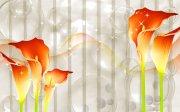 琉璃马蹄莲花背景墙