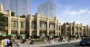 居住区商业商业街沿街商业欧式新古典