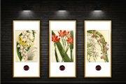 禅意花卉装饰画