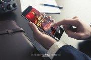 阿胶糕手机促销海报设计