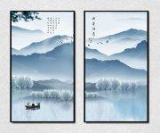 新中式创意水墨画