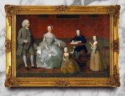 高清宫廷贵族人物油画