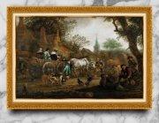 宫廷古典写实油画