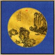 古典新中式禅意山水画