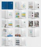 教育企业宣传画册模板宣传册设计