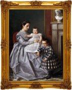 宫廷贵族油画