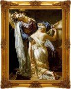 古典宮廷油畫掃描原稿