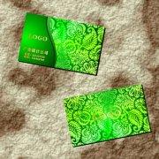 墨绿叶子-名片设计