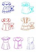 女童裙子設計