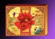 牡丹荷花國畫-禮品盒