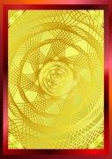 金装红边 证书底纹
