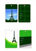 巴黎铁塔吊牌