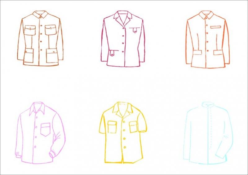 襯衫服飾設計