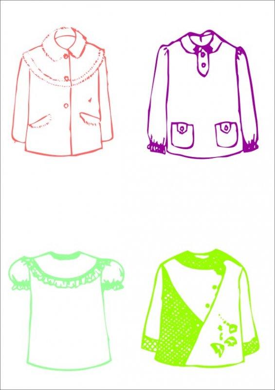 女童上衣設計