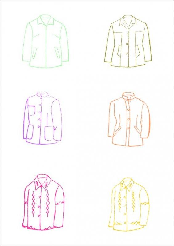 女裝夾克-服飾設計