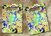 金花綠花-手袋設計