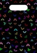 花蝴蝶手袋