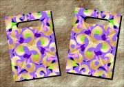 七色花朵-手袋