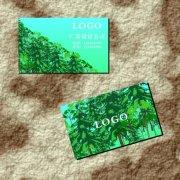 深山树林-名片设计
