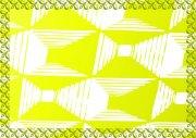 檸檬黃 淘寶證書紋