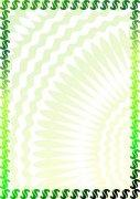 青絲綠 環保證書紋