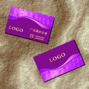 紫红鸳鸯 名片设计