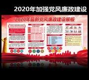 2020年党风廉政建设宣传栏