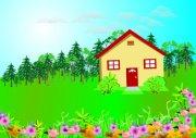 绿树花园小屋