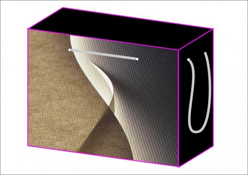 抽象畫拉繩盒