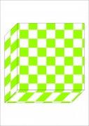 綠色方格盒