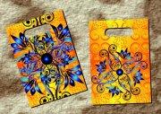 金葉紫羅蘭 手袋設計