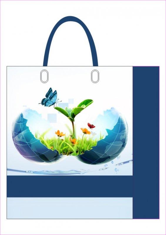 藍色地球袋子