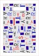 英文字母手袋