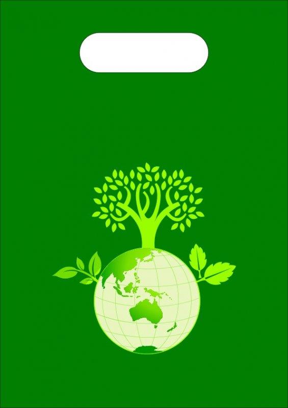 綠葉地球袋