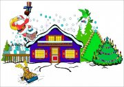 烟囱圣诞老人
