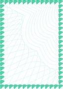 綠松石 防偽證書紋