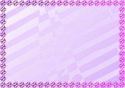 紫丁香 美容证书纹