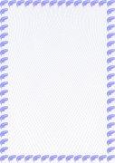 淡紫云 加盟证书纹